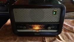 Retró rádió R 646 Velence (Működő képes állapot)