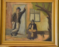 Miháltz Pál (1899-1988): Várakozás