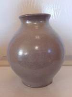 Mázas kerámia váza 18 cm.