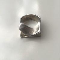 Régi LAPPONIA Finn BJÖRN WECKSTRÖM ezüst gyűrű