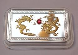R!Palau ezüst 5 dollár 2012, a sárkány éve.Csak 350 darab!