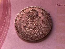 1890 ezüst 1 forint ritkább