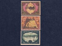 3 db osztrák szükségpénz 1920 (id7391)