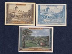 3 db osztrák szükségpénz 1921 (id7412)