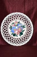 Kispesti, asztal közép - kínáló vagy akár fali tányér  ( DBZ 0085 )