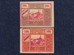 2 db osztrák szükségpénz 1920 (id7407)