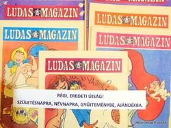 1982 április  /  LUDAS MAGAZIN  /  SZÜLETÉSNAPRA RÉGI EREDETI ÚJSÁG Szs.:  6863