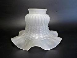 Fodros mintás üveg lámpa bura