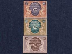 3 db osztrák szükségpénz 1920 (id7400)
