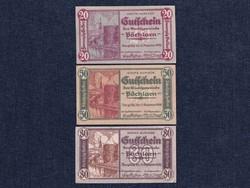 3 db osztrák szükségpénz 1920 (id7388)
