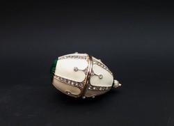 Mini Fabergé tojás tartó nélkül