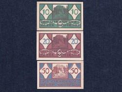 3 db osztrák szükségpénz 1920 (id7387)