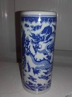 Kínai váz, 12,5 cm. (50-60 éves)