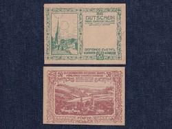 2 db osztrák szükségpénz 1920 (id7398)