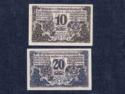 2 db osztrák szükségpénz 1920 (id7397)
