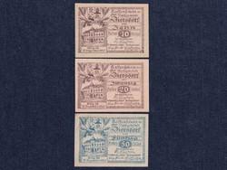 3 db osztrák szükségpénz 1920 (id7394)
