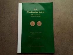 35. Numizmatikai Aukció 2012. november 24. Pannonia Terra Numizmatika /id5508/