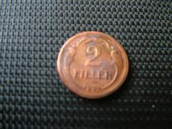 2 fillér 1931 R!