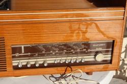 Retro rádió,hatalmas!!!dekorációnak kiváló