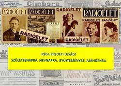 1930 április 11  /  Rádióélet   /  Régi ÚJSÁGOK KÉPREGÉNYEK MAGAZINOK Szs.:  7110