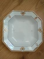 Antik porcelán tál