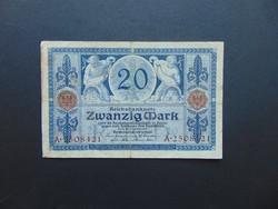 20 márka 1915 Németország  02