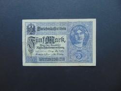 5 márka 1917 Németország  02
