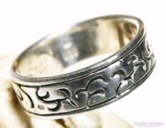 Kézműves Sterling Ezüst Gyűrű Fémjel , Mesterjel