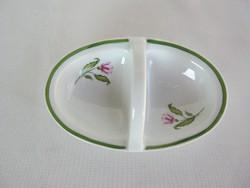 Zsolnay porcelán asztali fűszertartó sótartó