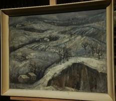 Ruisz György (1922-1994)  -  Téli táj