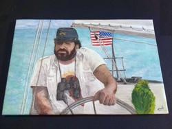 Bud Spencer festmény