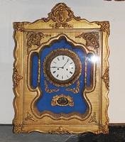 Biedermeier keret óra 1820 - 1860 -as évekből. Hibátlan! Eredeti Bécsi!