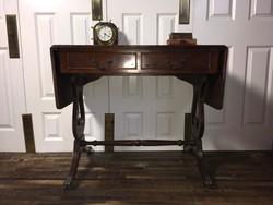 Antik mahagóni íróasztal