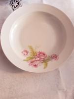 Zsolnay   rózsás   tányér   4500  ft