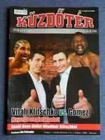 Küzdőtér Magazin 2009/02-03 (címlapon Vitali Klitschko vs. Juan Carlos Gomez)