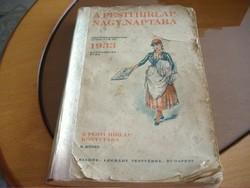 A PESTI HÍRLAP NAGY NAPTÁRA 1933