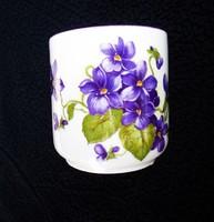 Zsolnay antik ibolyás csésze 11.