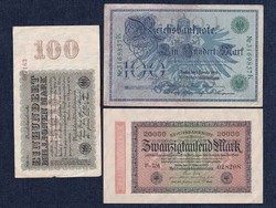 3 db német márka (id5676)