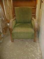 Régi hajlított karfás fotel