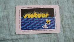 Kártyanaptár siótur 1979