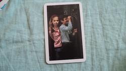 Kártyanaptár röltex  1979