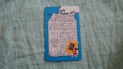 Kártyanaptár vegyianyag ker. 1979