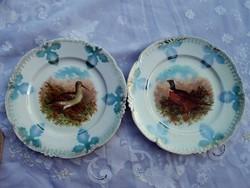Antik tányér pár