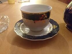 Hollóházi teás csésze aljjal