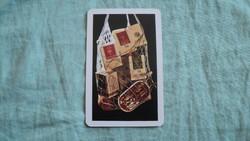 Kártyanaptár compack 1978