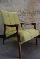 Restaurált skandináv stílusú retro / design fotel
