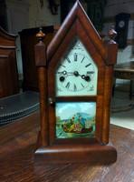 Amerikai polgárháborús relikvia, asztali óra