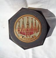 Moszkvai zenélő ékszertartó doboz