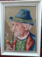 Gobelin-kép 30x22 cm