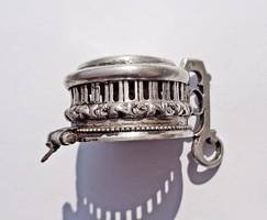 Régi ezüst pipa fedél